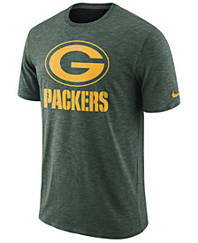 Nike Men's Green Bay Packers Dri-Fit Cotton Slub On-Field T-Shirt