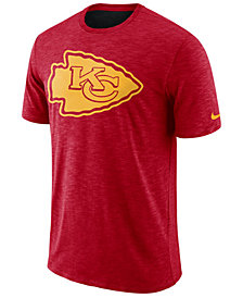 Nike Men's Kansas City Chiefs Dri-Fit Cotton Slub On-Field T-Shirt