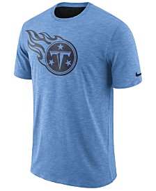 Nike Men's Tennessee Titans Dri-Fit Cotton Slub On-Field T-Shirt