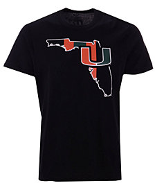 '47 Brand Men's Miami Hurricanes Regional Super Rival T-Shirt