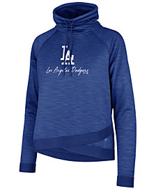 '47 Brand Women's Los Angeles Dodgers Commuter Funnelneck Sweatshirt