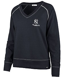 '47 Brand Women's New York Yankees Dakota Jumper Pullover Sweatshirt