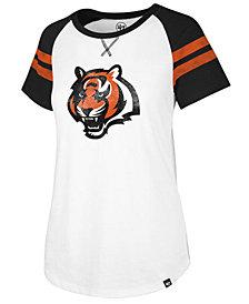 '47 Brand Women's Cincinnati Bengals Flyout Raglan T-Shirt
