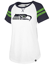 '47 Brand Women's Seattle Seahawks Flyout Raglan T-Shirt