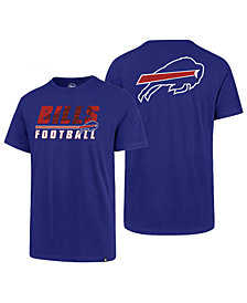 '47 Brand Men's Buffalo Bills Fade Back Super Rival T-Shirt