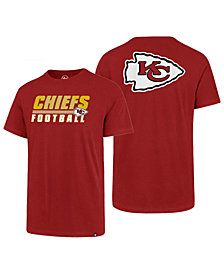'47 Brand Men's Kansas City Chiefs Fade Back Super Rival T-Shirt