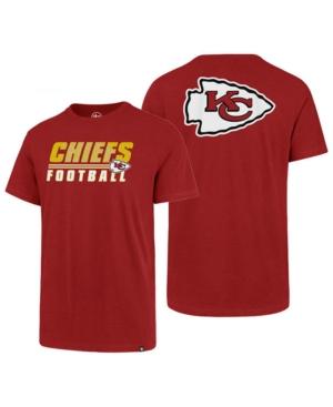 '47 Brand Men's Kansas City Chiefs Fade Back Super Rival T-Shirt