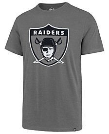 '47 Brand Men's Oakland Raiders Knockout Fieldhouse T-Shirt