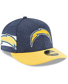 New Era Los Angeles Chargers On Field Low Profile Sideline Home 59FIFTY FITTED Cap