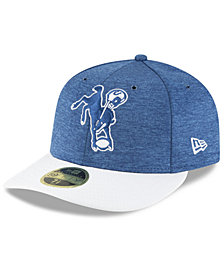 New Era Indianapolis Colts On Field Low Profile Sideline Home 59FIFTY FITTED Cap