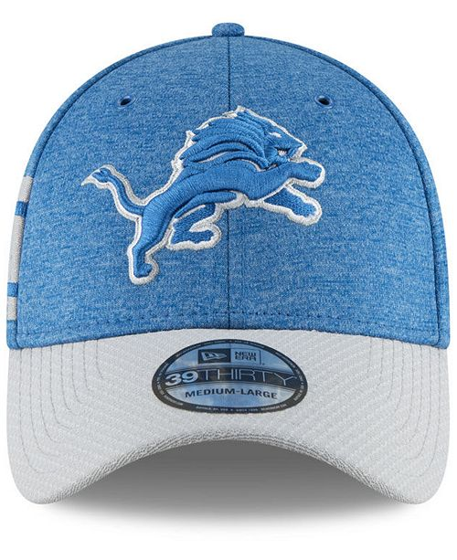 6812ab0325c New Era Detroit Lions On Field Sideline Home 39THIRTY Cap - Sports ...