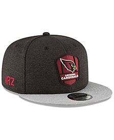 New Era Arizona Cardinals On Field Sideline Road 9FIFTY Snapback Cap