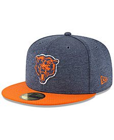New Era Chicago Bears On Field Sideline Home 59FIFTY FITTED Cap