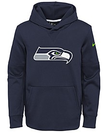 Seattle Seahawks Circuit Logo Hoodie, Big Boys (8-20)