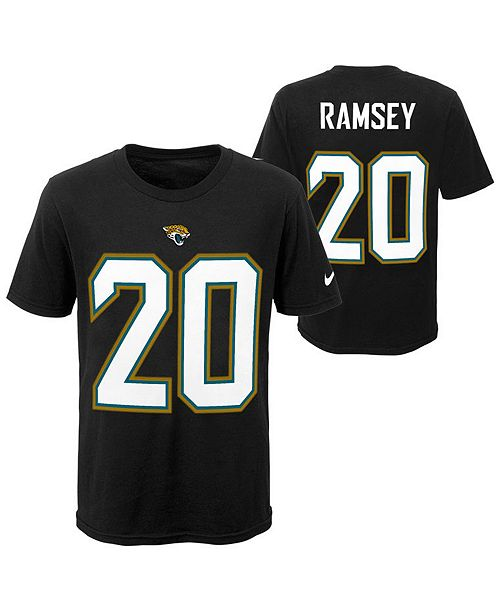 sports shoes 46446 45ab1 Jalen Ramsey Jacksonville Jaguars Pride Name & Number 3.0 T-Shirt, Big Boys  (8-20)