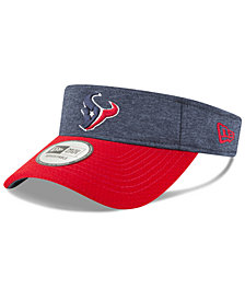New Era Houston Texans On Field Sideline Visor