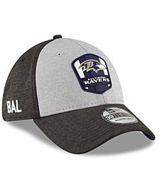 New Era Baltimore Ravens On Field Sideline Road 39THIRTY Stretch Fitted Cap