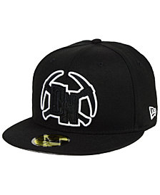 New Era Denver Nuggets Combo Logo 59FIFTY FITTED Cap