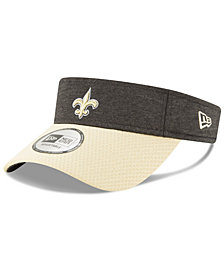 New Era New Orleans Saints On Field Sideline Visor