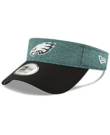 New Era Philadelphia Eagles On Field Sideline Visor