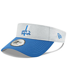 New Era Detroit Lions On Field Sideline Visor