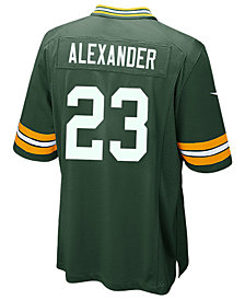 Nike Men's Jaire Alexander Green Bay Packers Game Jersey