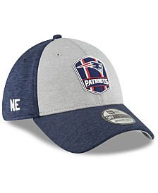 New Era New England Patriots On Field Sideline Road 39THIRTY Stretch Fitted Cap