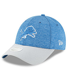 New Era Women's Detroit Lions On Field Sideline Home 9FORTY Strapback Cap