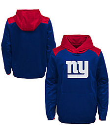 Outerstuff New York Giants Off The Grid Hoodie, Little Boys (4-7)