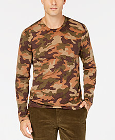 Michael Kors Men's Camo Wool Sweater