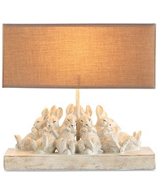Rabbit Lamp with Shade