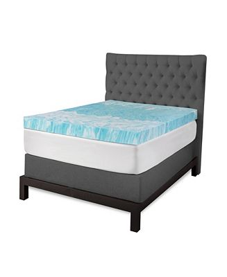 Sensorgel 4 Gel Swirl Memory Foam Mattress Topper Collection