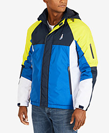 Nautica Men's Heavy Weight Colorblocked Jacket