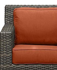 Viewport Outdoor Wicker Swivel Glider Replacement Sunbrella® Cushion, Quick Ship