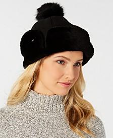 Flap Shearling Hat