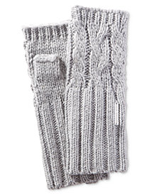 MICHAEL Michael Kors Cable-Knit Armwarmers