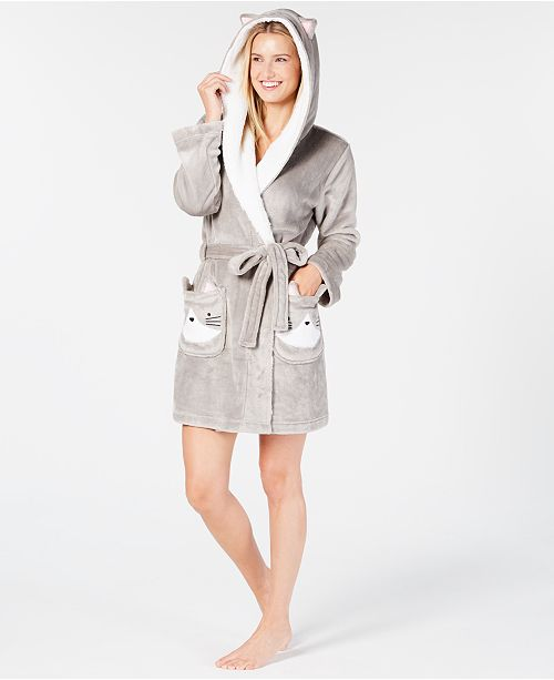 ... Jenni Hooded Cat Wrap Robe 6be0576a3