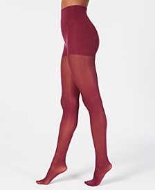 Women's  Comfort Luxe Semi Opaque Control Top Tights