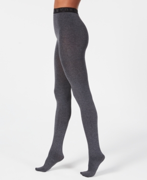 Image of Dkny Control-Top Cozy Opaque Tights