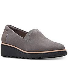 Clarks Women's Sharon Dolly Platform Loafers