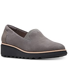 Clarks Women's Sharon Dolly Platform Loafers
