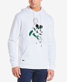 Lacoste Men's Disney Mickey Mouse Graphic Hoodie
