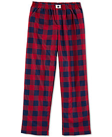 Carter's Big Boys Plaid Fleece Pajama Pants