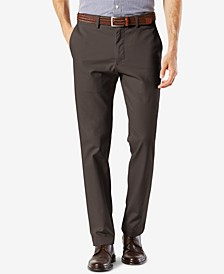 Men's Signature Lux Cotton Slim Fit Stretch Khaki Pants