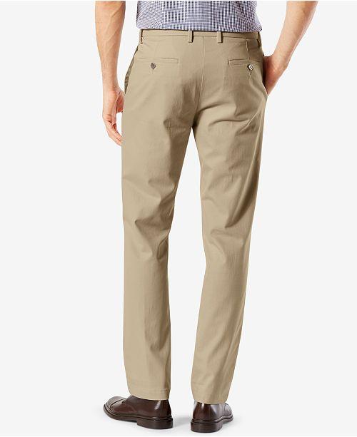 5cc4537a318 ... Dockers Men s Signature Lux Cotton Slim Fit Stretch Khaki Pants ...