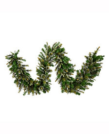 9' Cashmere Artificial Christmas Garland Unlit