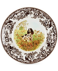 Woodland English Spaniel Salad Plate