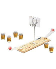 Jay Imports Game Night Basketball Game with Shot Glasses