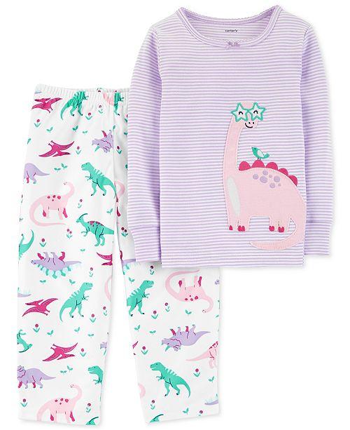 20818aa55 Carter s Toddler Girls Fleece Pajama Set   Reviews - Pajamas - Kids ...