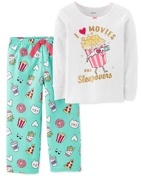 ec4b67149 Carter s Toddler Girls Fleece Pajama Set - Pajamas - Kids - Macy s